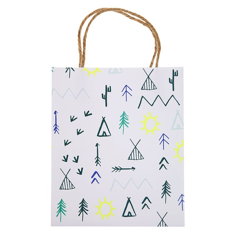 'lets explore' party bags (8)