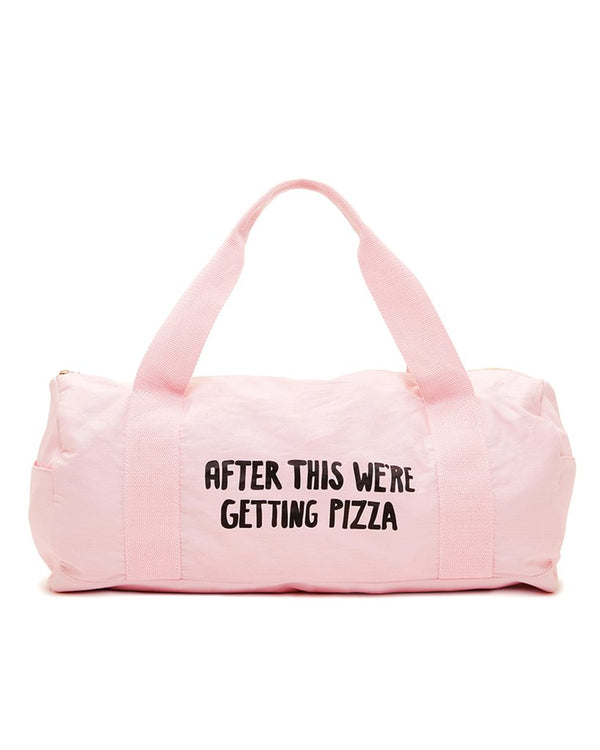 'pizza' gym bag