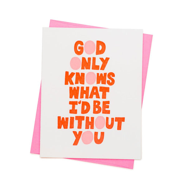 god only knows card