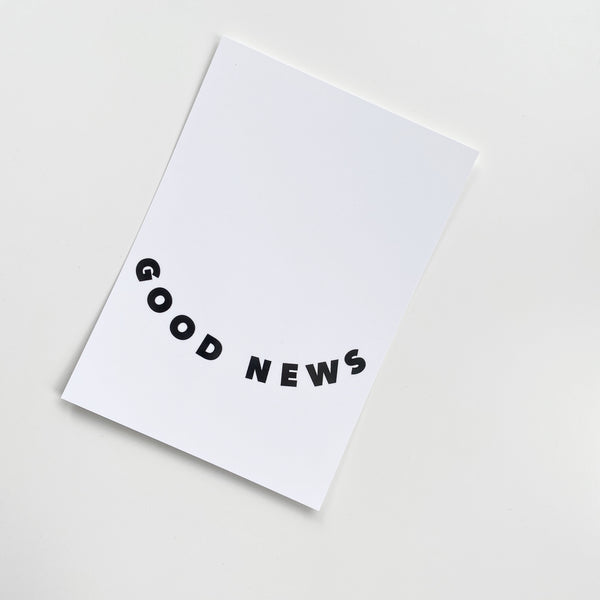 good news postcard