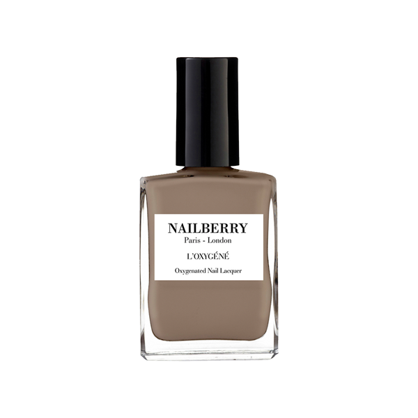 nailberry nail varnish - mindful grey