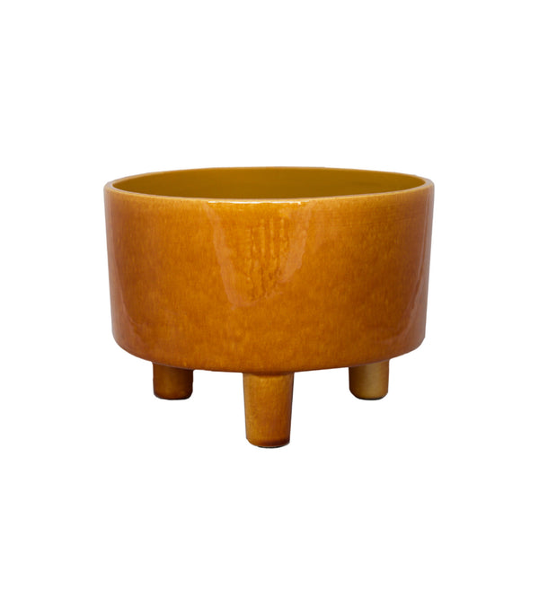 pisa mustard bowl planter