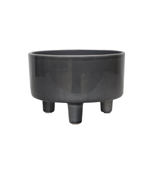 pisa slate bowl planter