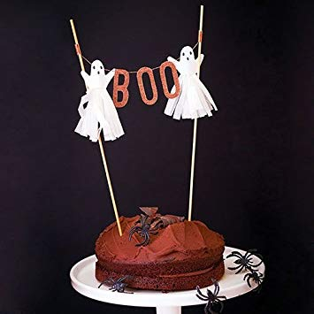 ghost cake topper