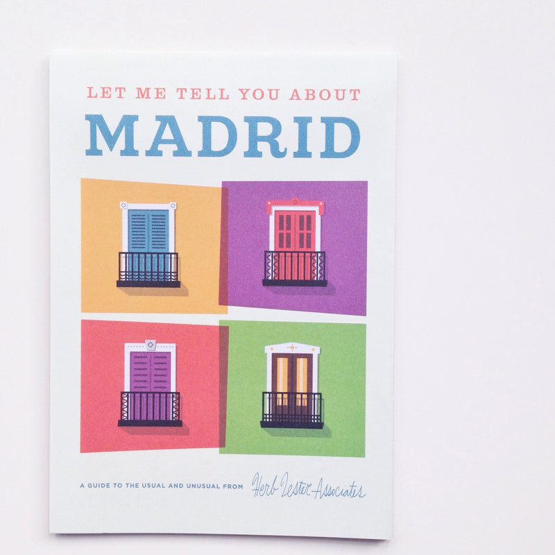 'let me tell you about madrid' mini travel guide Violet and Percy