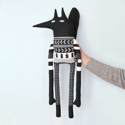 'laterite' soft monochrome toy