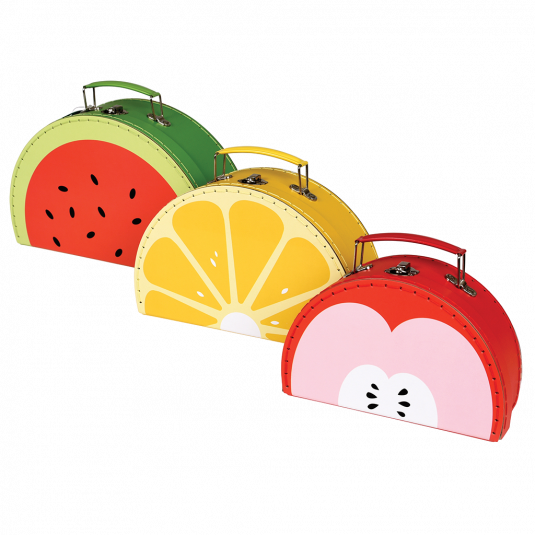 fruity cases (set of three)