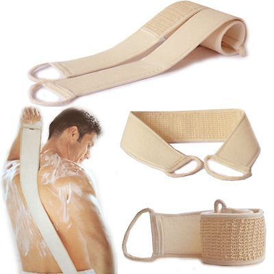 Sponge Back Strap Bath Shower