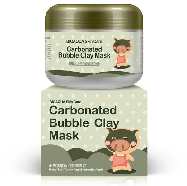 Skin care Carbonate bubble clay facial mask