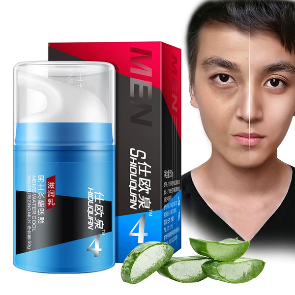 Face Cream Aloe Men's Moisturizing