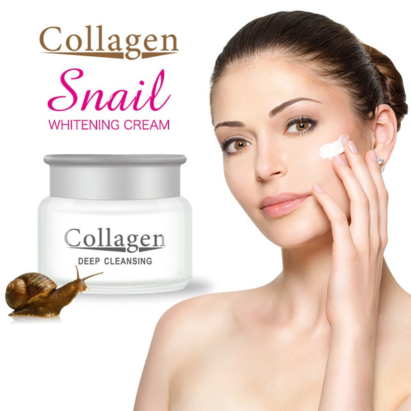 Snail face cream hyaluronic acid moisturizer anti Wrinkle