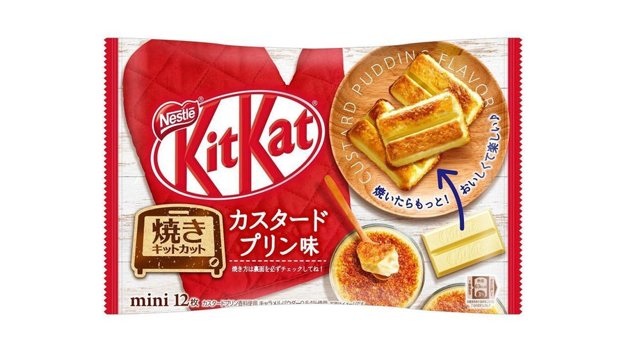 Mini Kit Kat - Custard Pudding Flavor (Pack of 12)
