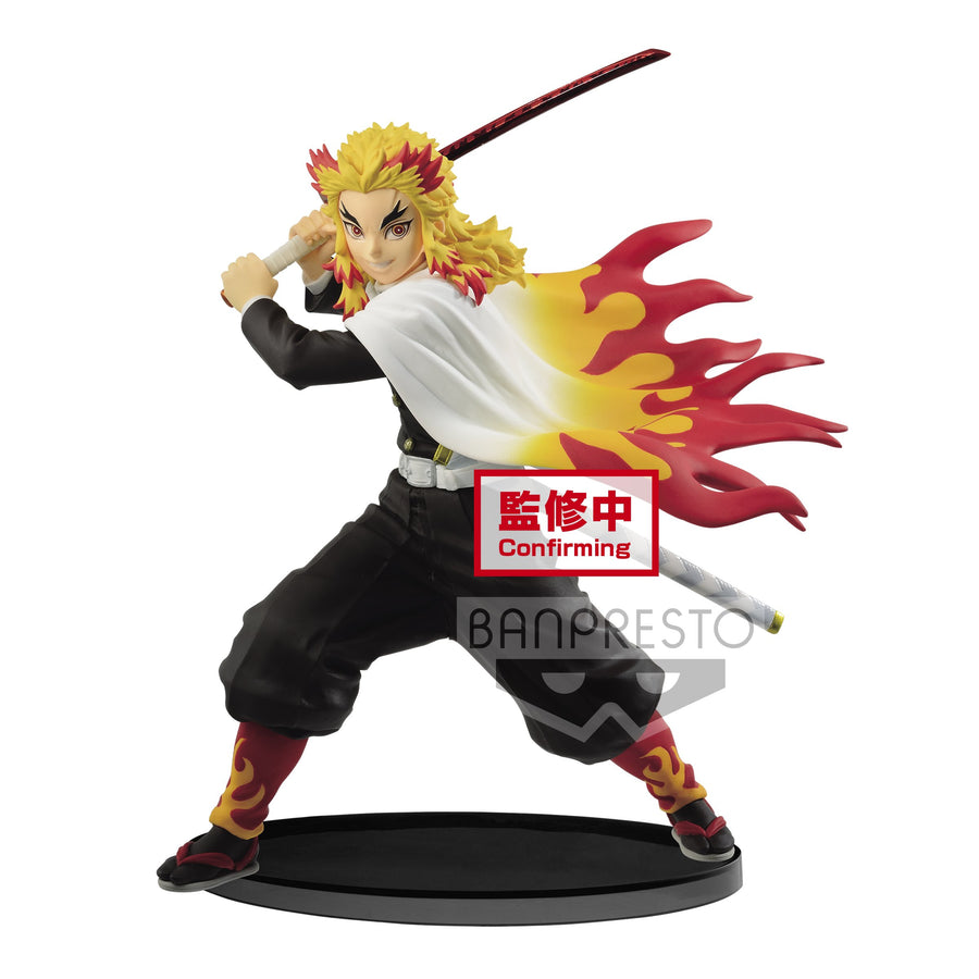 Demon Slayer: Kimetsu no Yaiba - Kyojuro Rengoku Vibration Stars Figure