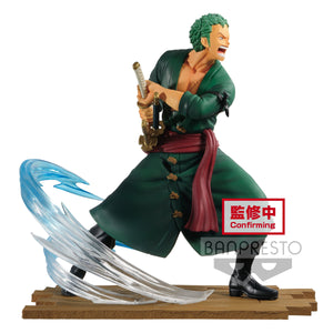 One Piece - Roronoa Zoro Log File Selection Fight Vol. 1 Prize Figure