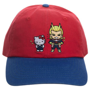 My Hero Academia x Sanrio All Might and Hello Kitty Hat