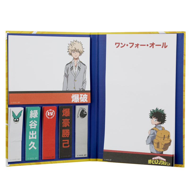 My Hero Academia Sticky Notebook