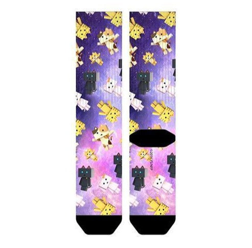 Nyanbo Sublimated Crew Socks