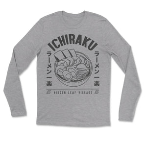 Naruto Ichiraku Hidden Leaf Village Ramen Long Sleeve