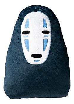 Spirited Away - No Face Die Cut Pillow Cusion