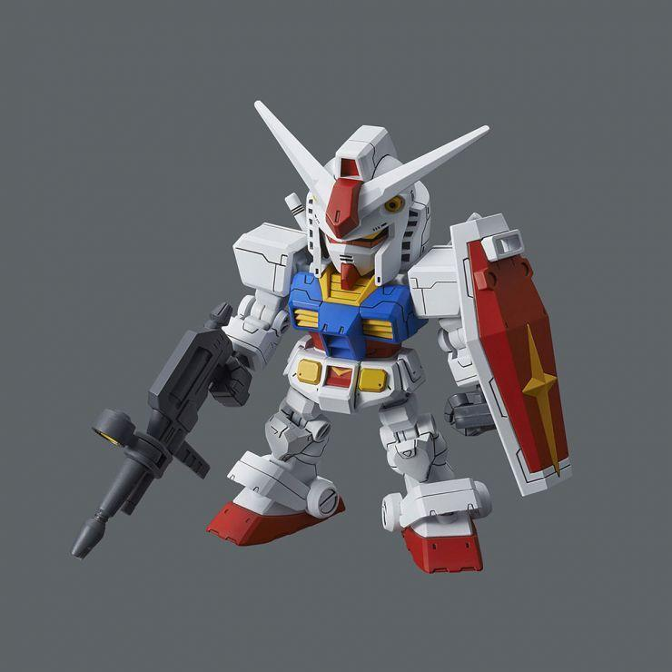 Mobile Suit Gundam - RX-78-2 Gundam & Cross Silhouette Frame Set  Model Kit