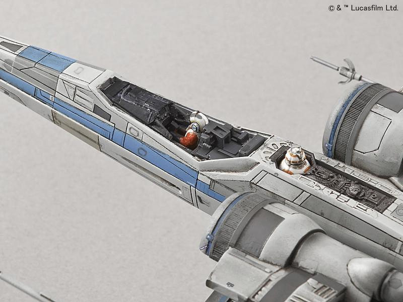 Resistance X-Wing Star Fighter 1/72nd Scale Plastic Model Kit - Star Wars:  The Force Awakens