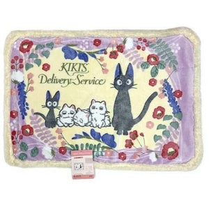 Kikis Delivery Service - Jiji and Kittens Sherpa Blanket