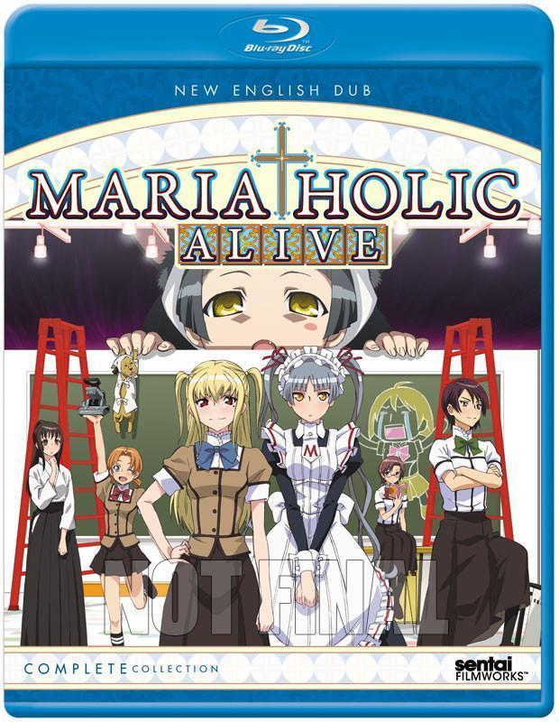 Maria-Holic Alive Complete Collection Blu-Ray