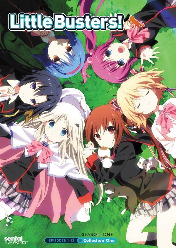 Little Busters! Collection 1 (DVD)