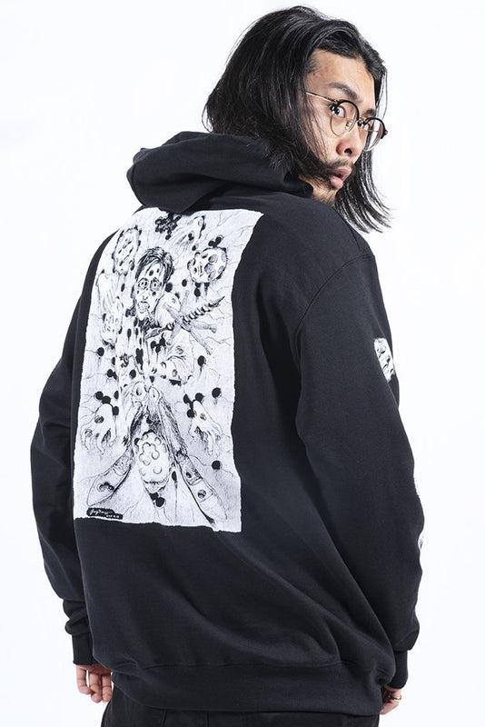 CR LOVES: Junji Ito Drill Man Champion Hoodie - CR Exclusive!