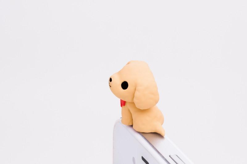Nekomura Puppy Earphone Jack Plug (Toy Poodle)
