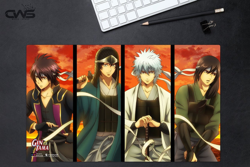 Gintama Character Collage Deskmat