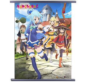 Konosuba God's Blessing on This Wonderful World! Wall Scroll