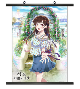Rent-a-Girlfriend Chizuru Garden Wall Scroll