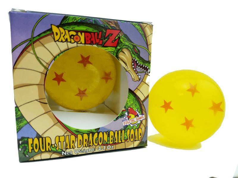 Dragon Ball Z 4-Star Soap