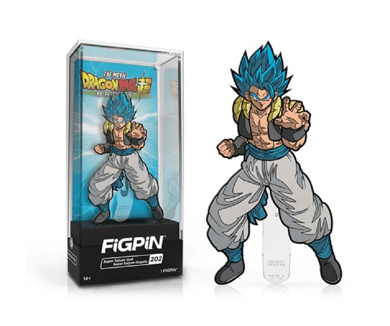 Dragon Ball Super Saiyan God Super Saiyan Gogeta Enamel Pin
