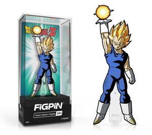Dragon Ball Z Super Saiyan Vegeta Enamel Pin