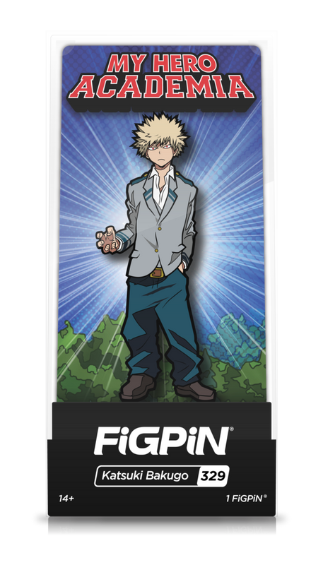 My Hero Academia Katsuki Bakugo School Uniform Pin #329