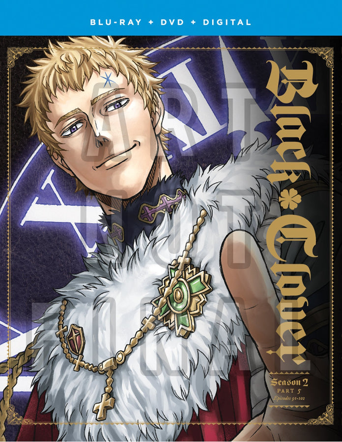 Black Clover Season Two Part Five Blu-ray/DVD Plus Art Book