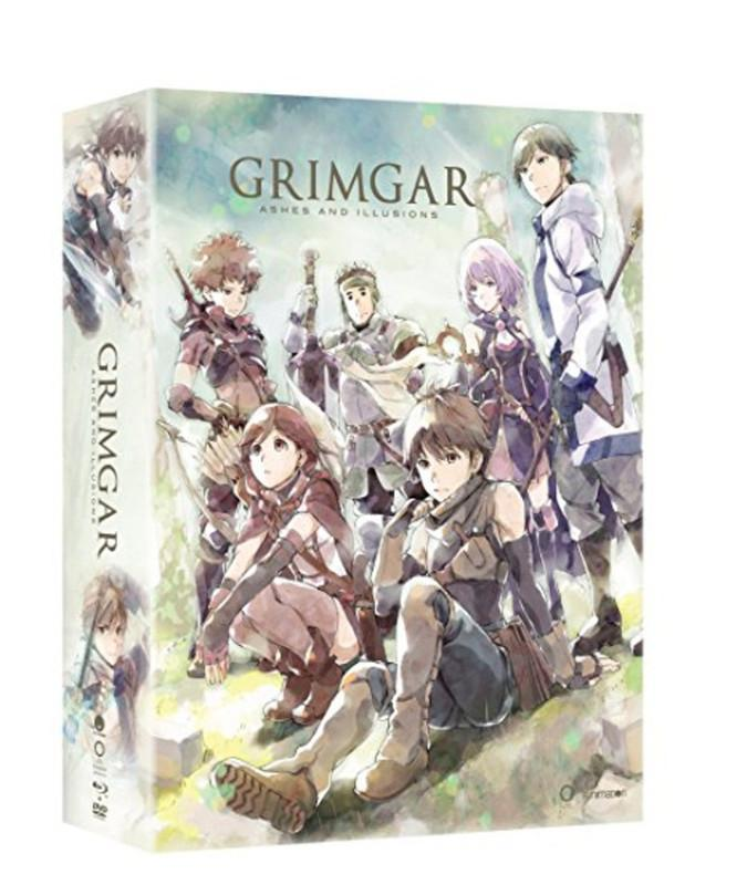 Grimgar of Fantasy and Ash - Complete Series - BD/DVD Combo - Limited Edition