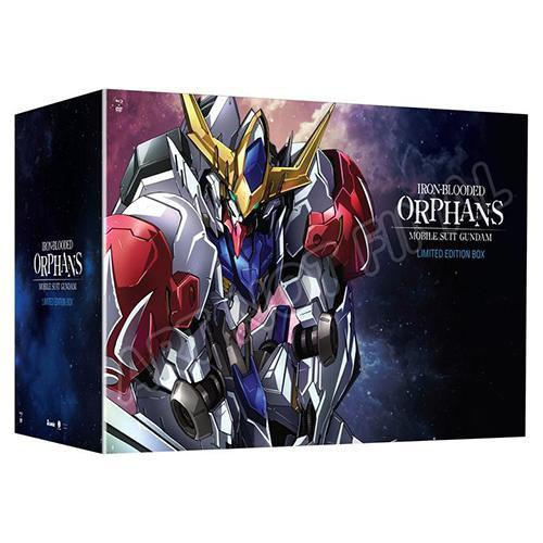 Mobile Suit Gundam: Iron-Blooded Orphans - Season 2 Limited Edition Blu-Ray/DVD