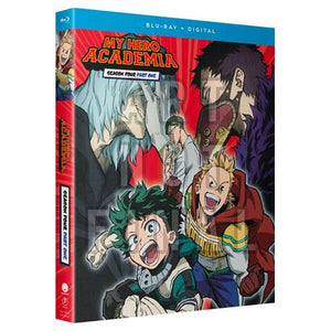 My Hero Academia - Season 4 Part 1 Blu-Ray