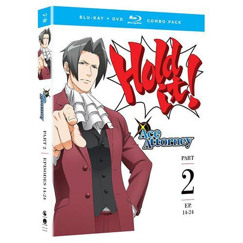 Ace Attorney - Part Two - BD/DVD Combo