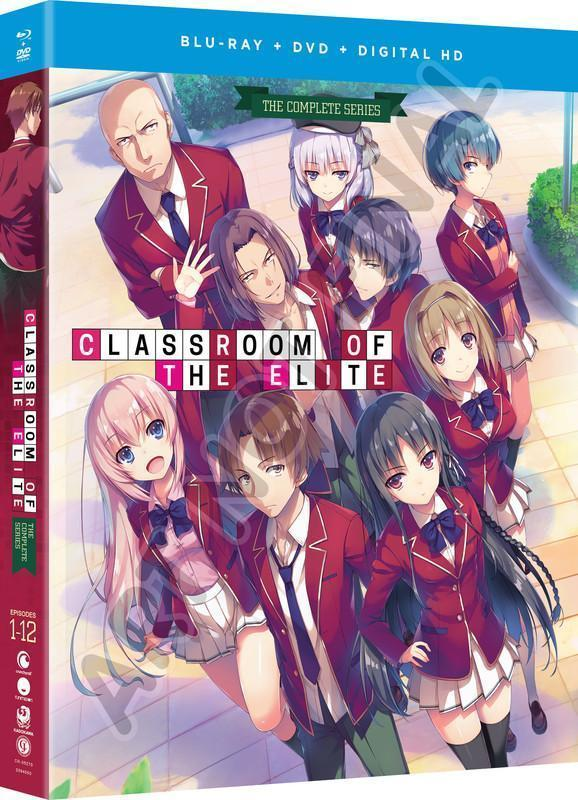 Classroom of the Elite - The Complete Series - BD/DVD+Fun Digital