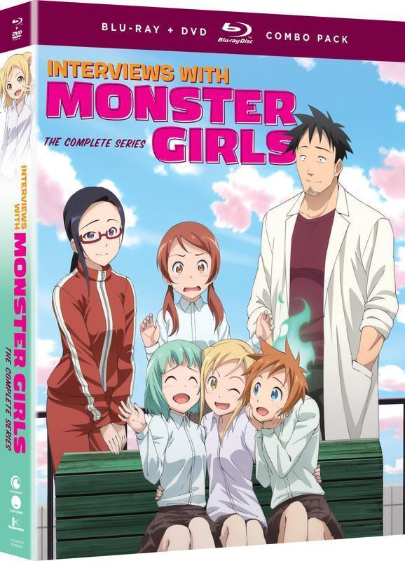 Interviews with Monster Girls - The Complete Series - BD/DVD Combo