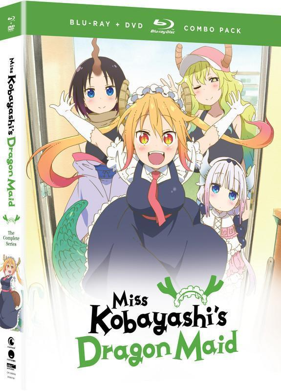 Miss Kobayashi's Dragon Maid - The Complete Series - BD/DVD Combo