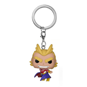 My Hero Academia - All Might (Silver Age Ver.) POP! Keychain