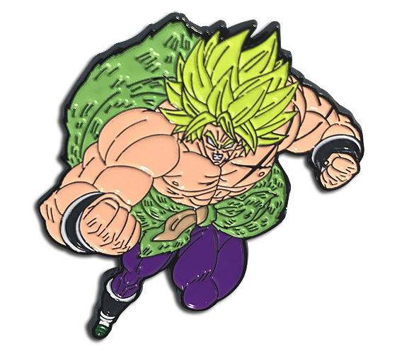 Dragon Ball Super Broly Enamel Pin