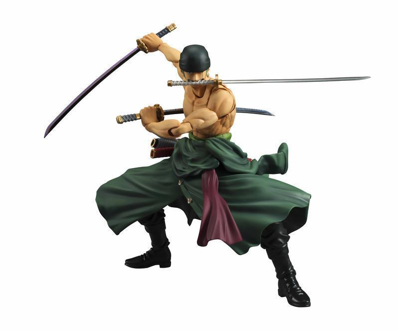 Roronoa Zoro Variable Action Heroes Figure (Re-Run) - One Piece