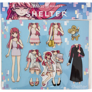 Shelter: The Animation Magnet Set