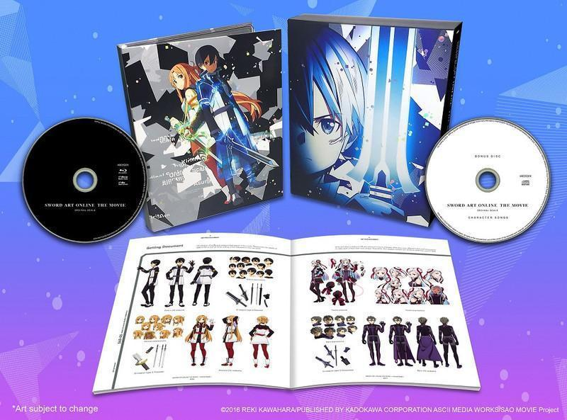 Sword Art Online The Movie Ordinal Scale - Limited Edition Blu-Ray